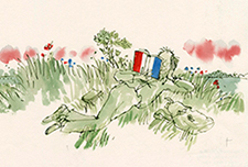 Quentin Blake and France
