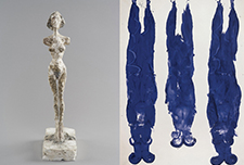 Alberto Giacometti and Yves Klein, In Search of the Absolute