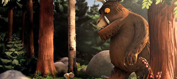 Le Gruffalo (+3 shorts films about monsters)